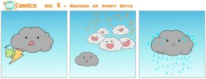 BR COMICS No. 1 - Reason of Rainy Days by BenRivers