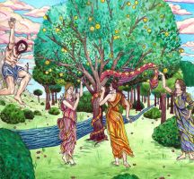 Garden of Hesperides by sitres
