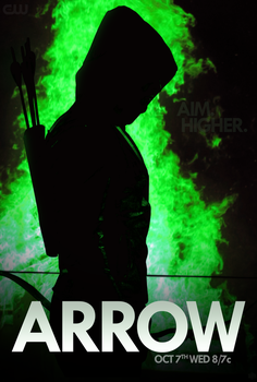 CW ARROW SEASON 4 PROMO - MOVIE POSTER by skauf99