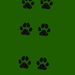 Dog Paw Print Photoshop Brush by LimeSoftSolutions