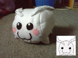 Digimon - Tokomon Plush by collarander