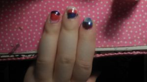 4th of July Nail Art by CaitlinTheLucario