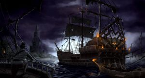 Night of Plunder by tommyscottart