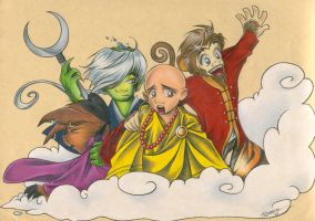 Journey to the West by cillabub