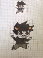 DILATION PROJECT FOR MY MATH CLASS by velvetkitteh