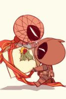 Spideypool72 by LKiKAi