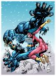 Spiderwoman Vs Venom by pipin