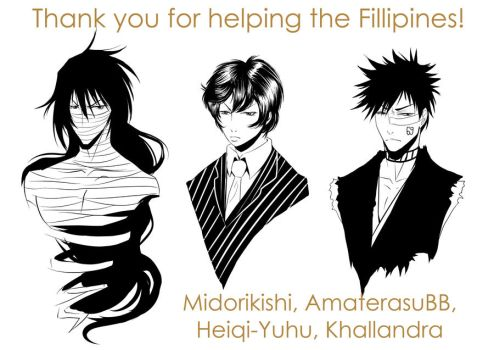 Thank you for helping the Fillipines! by Mistiqarts