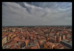 Verona from Above by oceanbased