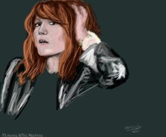 Florence And The Machine by AnoukvanderMeer