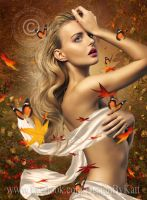 Mabon Goddess of Autumn by DesignbyKatt