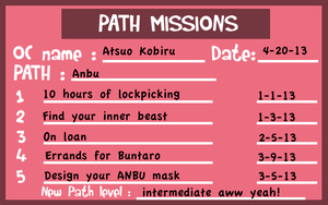 HSV Path Mission Sheet by Ram3nLuvr666