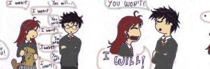 1st Date: Lily and James by Nheryssa