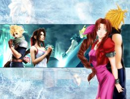 Final Fantasy VII by kawaiigundam