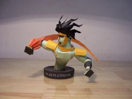 Star Platinum Papercraft by StormL