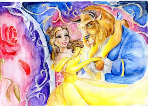 BEAUTY AND THE BEAST by KathyPhantomhive