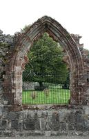Sweetheart Abbey 5 by GothicBohemianStock