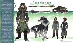 Lagdanan the Druid - Character Design by mmishee