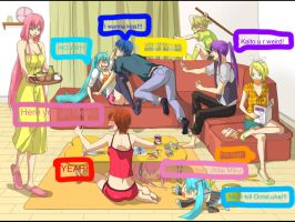 Funny Vocaloids! by MikuLeekLover01