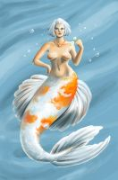 Unique Mermaid : Koi by JillianRK