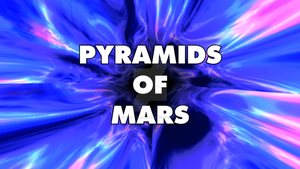 Pyramids of Mars Title Card by BlackLanternDaddy