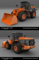 Wheel Loader by adit1001