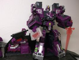 EVIL AUTOBOT LEADER, OPTIMUS PRIME! by forever-at-peace