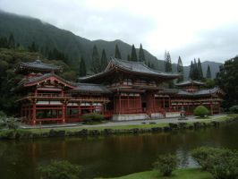 Byodo-In Temple by rioka