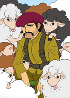 Nothing but sheep... by Gomeric85