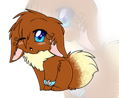 BAAAW AN EEVEE by watermelonparasite