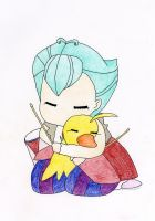 Uzura and Duck by clair12300