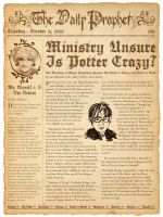Prop: The Daily Prophet by missmarypotter