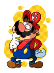 ME MARIO-A HELLO! ITS by MrBowz