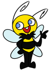 Bulky the Bee by theStupidButterfly