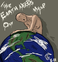 The earth needs our help by Garcho