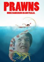 PRAWNS - Game Grumps Movie Poster by EyebrowScar