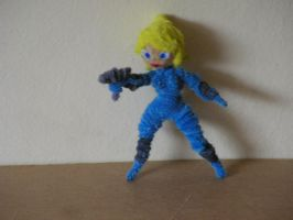 Zero Suit Samus by fuzzyfigureguy