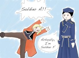 Soldier F by crazyfangirl38