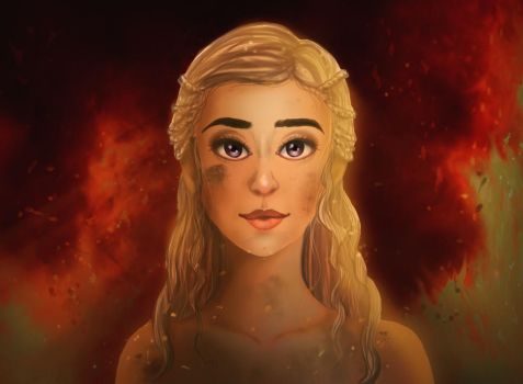 Mother of Dragons by meganim