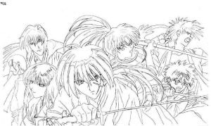 Kenshin and Company by Ziven