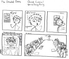 The Dreaded Date by SometimesDrawings