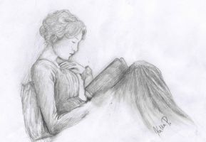 Becoming Jane by aidinera