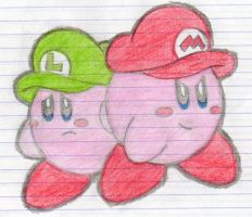 The Kirby Brothers xD by Yoshidrawer32