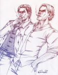 Seb and Bigby by Grace-Zed