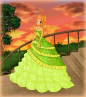 Maci in a ball gown by ICassidyI