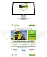 Landing Page (Cargo Auto Transport) by Roamn