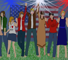 .:America's Birthday:. by Super-Sailor-Star