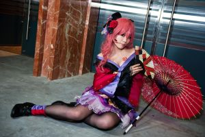 Cosplay-Megurine Luka by neiyukina