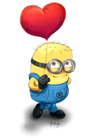 Love me Minion by Afterlaughs