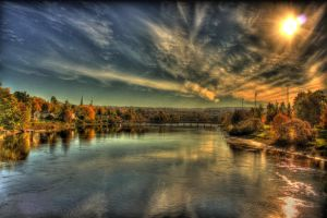 Golden october by Charon1